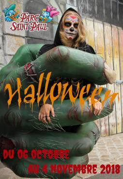 Photo pour Halloween au Parc Saint Paul du 6 octobre au 4 novembre 2018