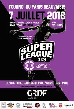 Tournoi 3x3 de basket PARIS BEAUVAISIS - Parc Saint Paul - 7 juillet 2018